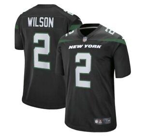 Nike NFL On-Field XL Black Jersey Zach Wilson Jets NEW UNOPENED NWT XL
