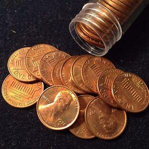 1971-S 1C Lincoln Cent Full Roll BU!!