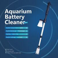 Filtre à Eau Nettoyant Siphon Gravier sous Vide d'Aquarium Aspirateur Nettoyeur