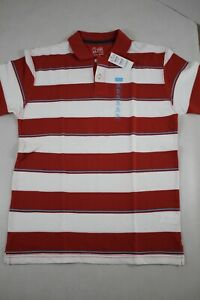 THE CHILDRENS PLACE Boy's Short Sleeve Red Polo Shirt size XL (14) New