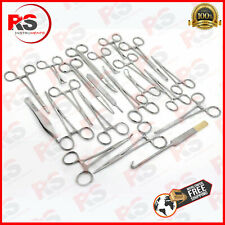 142 PCS CANINE+FELINE SPAY PACK VETERINARY SURGICAL INSTRUMENTS