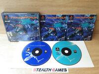 Novastorm (1995) Ps1 Black Label Double Case 2 Discs PAL Sony Playstation 1 1995