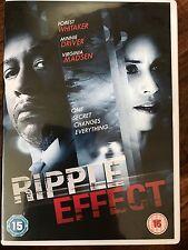 Minnie Driver Forest Whitaker RIPPLE EFFECT ~ 2007 Crime Thriller UK DVD