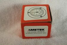 "Ametek Gauge, 3000PSI, 1/4"" NPT backmount, 2-1/2"" face, 5A045-153577"