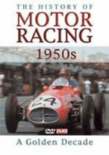 THE HISTORY OF MOTOR RACING 1950 Golden Decade DVD Sport Documentary UK New R2