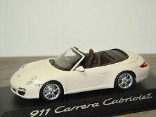 Porsche 911 997 Carrera Cabriolet - Minichamps 1:43 in Box *30729