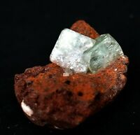 LIGHT GREEN APOPHYLLITE CRYSTAL ZEOLITE MINERAL SPECIMENS#A11