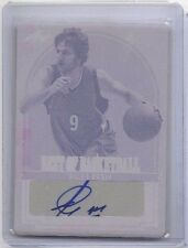 Ricky Rubio 2012 Leaf Best of Basketball auto MAGENTA PLATE 1/3 RARE!