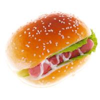 Künstlich Falsche Realistisch Gemüse Hamburger Lebensmittel Brot Imitation Küche