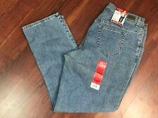 NWT Lee Riders Jeans Womens 18W Medium Relaxed Fit Tummy Control Light Denim