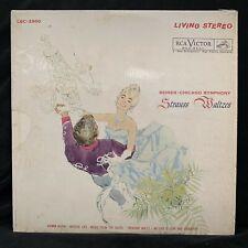 RCA Living Stereo LSC-2500 STRAUSS Waltzes REINER - ST LP WD 1961 TAS LIST