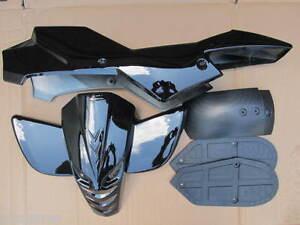 Mini quad bike quadard atv plastics fairing kit complete many colours available