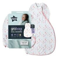 Tommee Tippee Grobag Newborn Easy Swaddle Baby Sleep Bag - Little Pretty Petals