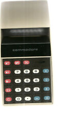 Commodore 887D Electronic Red LED Calculator  WORKS