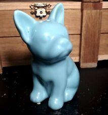Blue French Bulldog Salt pepper Shaker Dog Puppy Frenchie