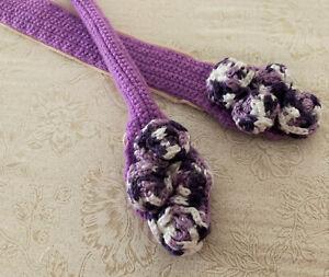 """NEW 11 Colors Crochet Handmade Bag Handle Cover Rose 20"""" For LV Neverfull Japan"""