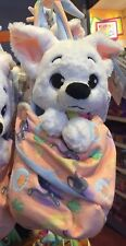 "Bolt Baby Plush with Blanket Pouch 10"" Babies Disney Theme Parks NEW"