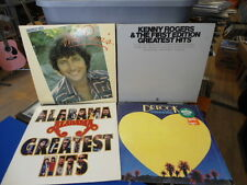 Country Pop 4 Lot Dr. Hook, Kenny Rogers First Edition, Mac Davis, Alabama Hits