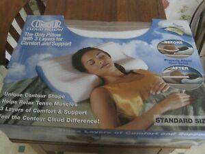 New Standard Size Contour Cloud Pillow