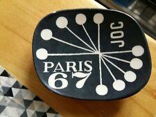 ANCIEN RENDS-MONNAIE PUBLICITAIRE vide poche bakélite PARIS 67 JOC