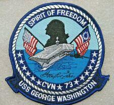 /US NAVY Patch USS GEORGE WASHINGTON CVN-73