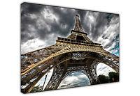 EIFFEL TOWER PARIS LARGE CANVAS PRINT WALL ART / PHOTO / LANDSCAPE / PICTURE