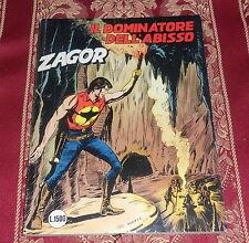 ZAGOR ZENITH numero 318 ORIGINALE *Prima Edizione*