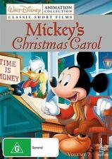Disney Animation Collection - Mickey's Christmas Carol : Vol 7 (DVD, 2009)