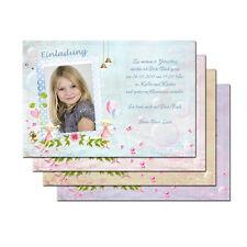 1 x Kindergeburtstag Karte personalisierte Einladung + Kuvert