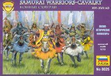 Zvezda 8025-I guerrieri samurai-Cavalleria 1:72 Figure in plastica/KIT GIOCHI DI GUERRA