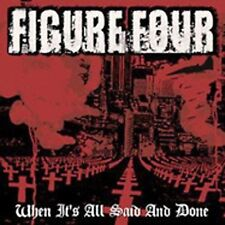 When It's All Said and Done by Figure Four (CD, Apr-2006) NEW ,FREE SHIPPING