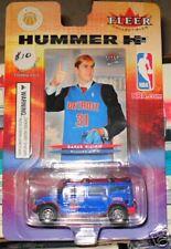 Darko Milicic Detroit Pistons Hummer -  Fleer