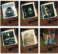 JAMES BOND THE WORLD IS NOT ENOUGH SET OF SIX Q-BRANCH CARDS