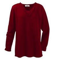 Markenlose Damen-Pullover & -Strickware mit V-Ausschnitt ohne Verschluss