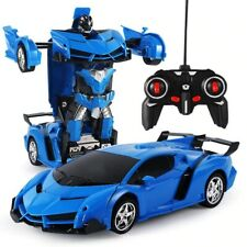 New 2 in 1 RC Car Toy Transformation Robots Car Driving Vehicle