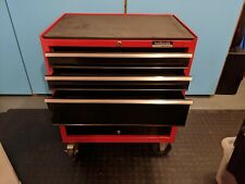 Halford Professional Tool Box Chest Cabinet Red - Used