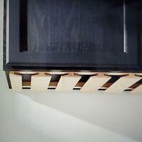 "Under Cabinet Mount Maple Wood Stemware Storage Rack Bar Pub 12""wide x 36"" long"