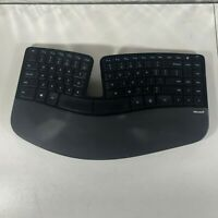 Microsoft 1559 Sculpt Ergonomic Wireless Keyboard Only - Missing Bat. Cover 4.H4