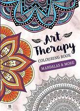 Hinkler Adult Art Therapy Colouring Book - Mandalas and More