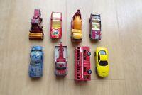 JOB LOT BUNDLE VARIOUS MATCHBOX CARS ETC x 8