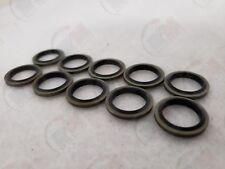Acura & Honda Metal-Rubber Oil Drain Plug Washer MR41 (Pack of 10)