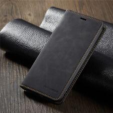 Для iPhone 5S SE 6S 7 8 плюс X магнитный подлинный кожаный бум��жник откидной чехол
