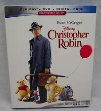 Walt Disney CHRISTOPHER ROBIN BLU-RAY & DVD 2 Disc SET Winnie The Pooh NEW