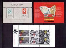 NETHERLANDS 1977-93 three min sheets MUH