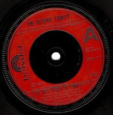 """THE RITCHIE FAMILY The Best Disco In Town 7"""" Single Vinyl Record Polydor 1976"""