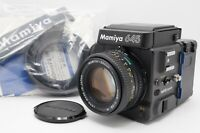 [MINT] Mamiya 645 Super Body Sekor C 80mm f/2.8 N Lens Waist Level Finder Japan