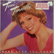 "Toni Tennille - More Than You Know 1984 Mirage 12"" 33 RPM LP (NM)"