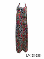 Ladies Maxi Dress Geometric Spicy Sugar Summer Size 8 10 12 14 Sml Med New SALE
