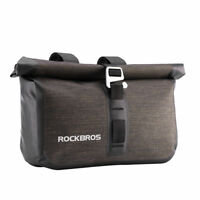 ROCKBROS Bicycle Handlebar Bag Front Bag Waterproof Cycling Bag Capacity 4-5L