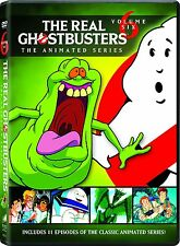 THE REAL GHOSTBUSTERS - Volume 6 animated   - DVD - REGION 1 - Sealed
